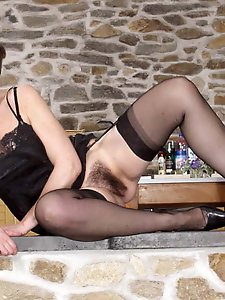 Astonishing mature damsel in perfect shape