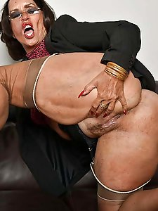 Sensual mature women demonstrating their skills
